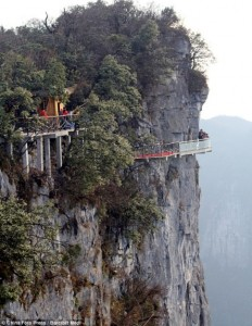 Glass Skywalk of Tianmen Mountain 1