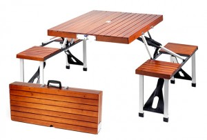 Tailgate-Folding-Wooden-Picnic-Table