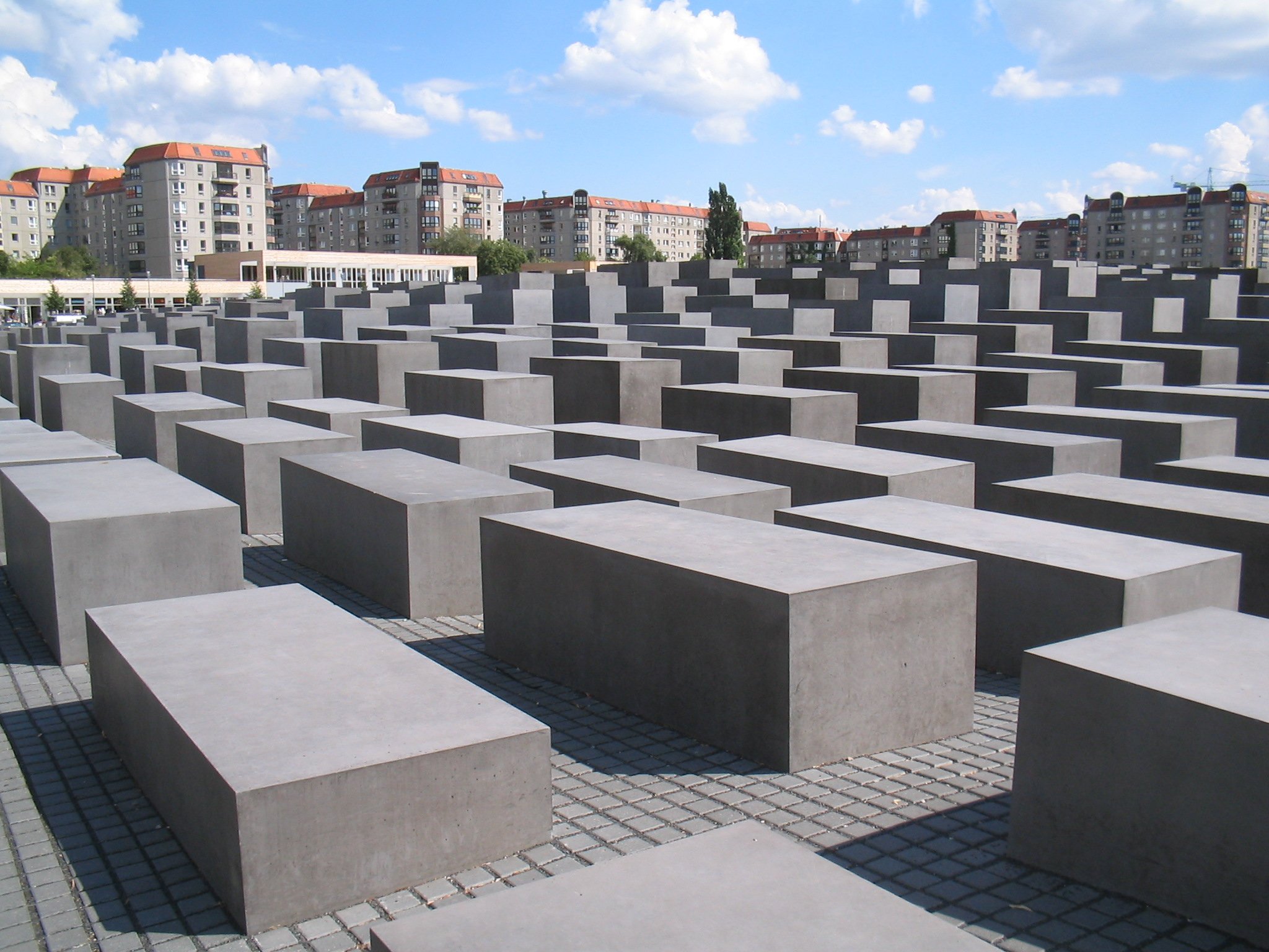 Field of Stelae In Berlin