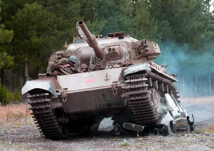 Drive a Tank in New Zealand