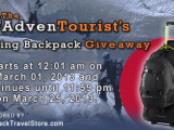 TheAdvenTourist.com's Spring Backpack Giveaway