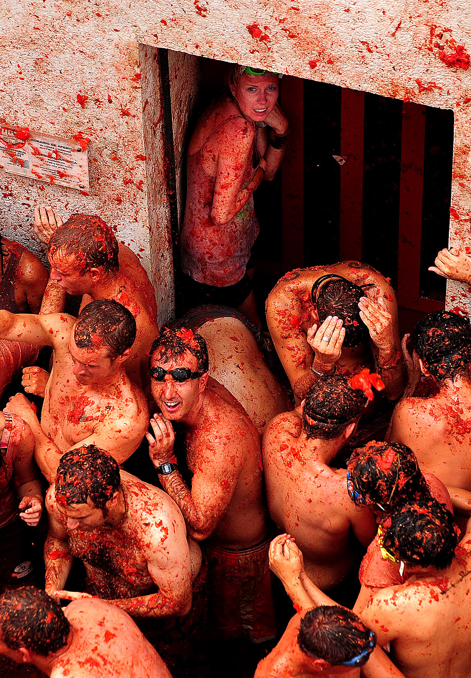 la tomatina food fight bunol spain