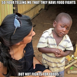 skeptical african kid meme