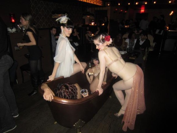 Bathtub Gin nyc speakeasy