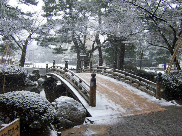Kenrokuen_bridge