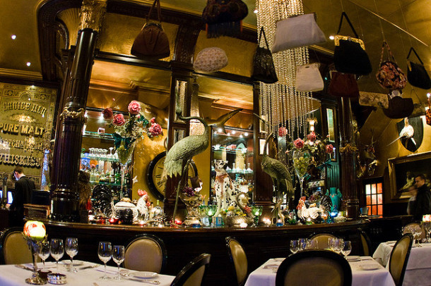 The most interesting london restaurants the adventourist for Quirky hotels london