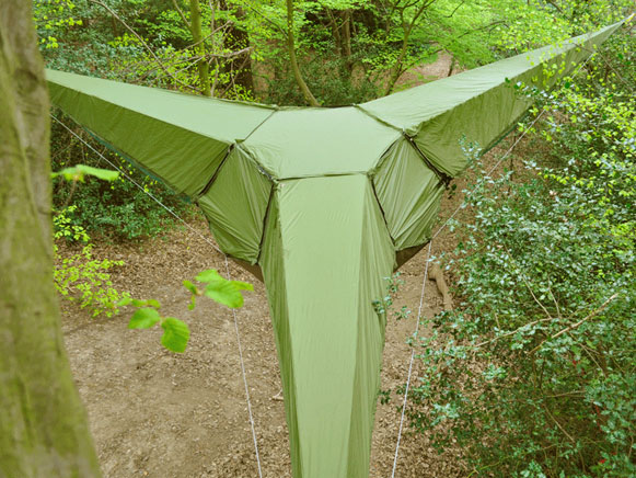 a cool tent by Tentsile Tent