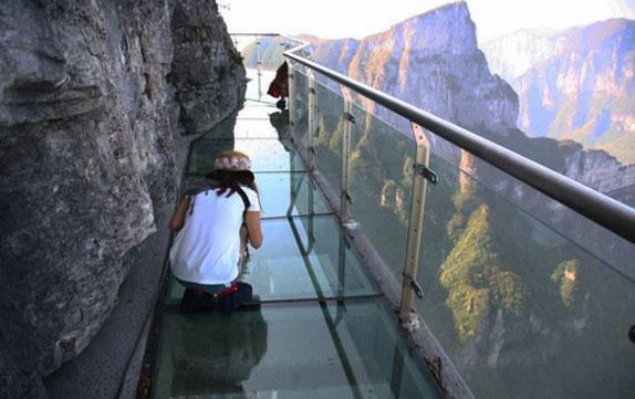 Glass Skywalk of Tianmen Mountain