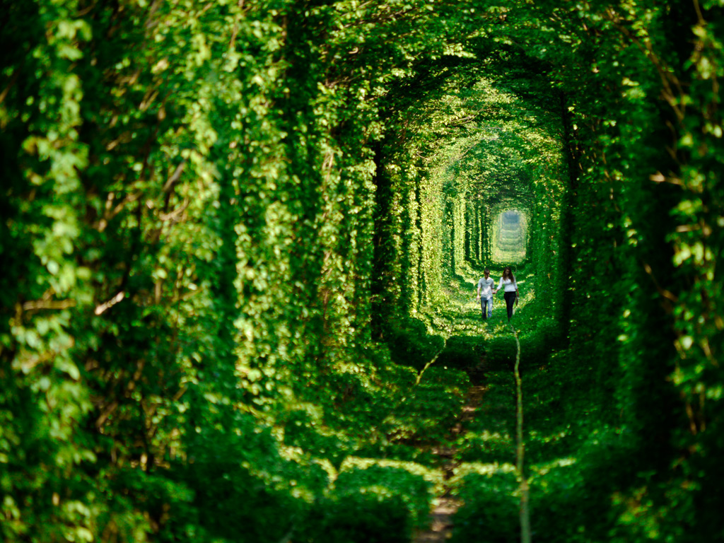 Kleven's Tunnel of Love