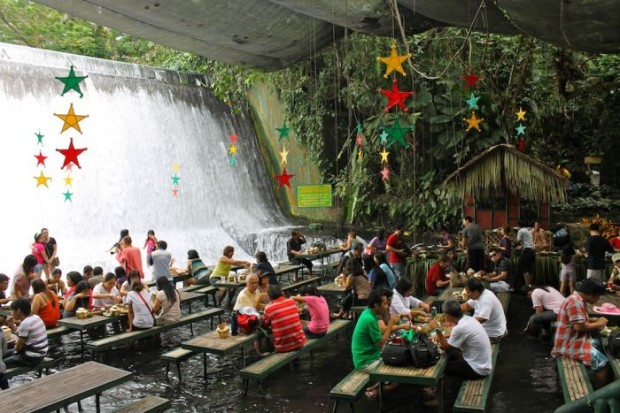Waterfalls Restaurant Villa Escudero San Pablo City 2