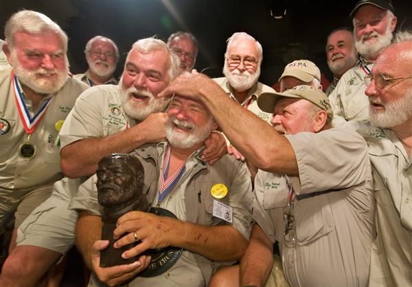 Ernest Hemingway Look-Alike Contest In Key West 2