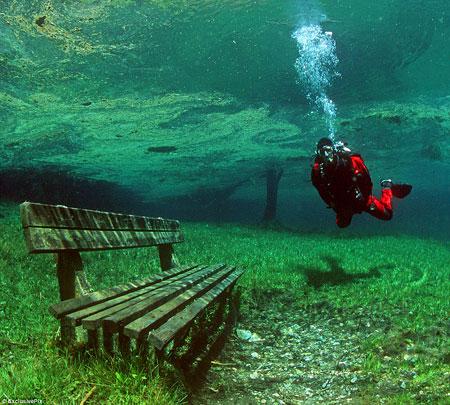 flooded meadow Sameranger Lake Austria 3