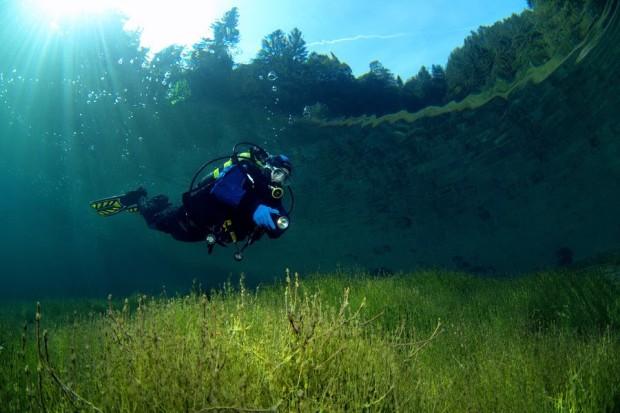 flooded meadow Sameranger Lake Austria