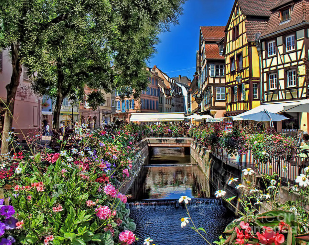 flowers-along-canal-in-colmar-france-dale-erickson