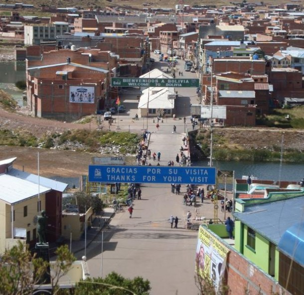 Crossing From Peru To Bolivia Crossing Titicaca Or By