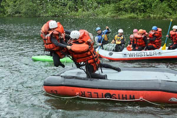 rafting-fighting