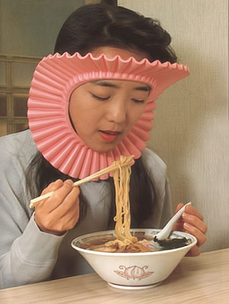 Noodle-hair-protector