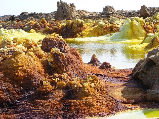 Visiting the Erta Ale and The Dallol Volcano - dallol