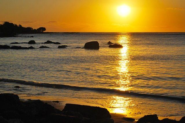 mauritius - sunset